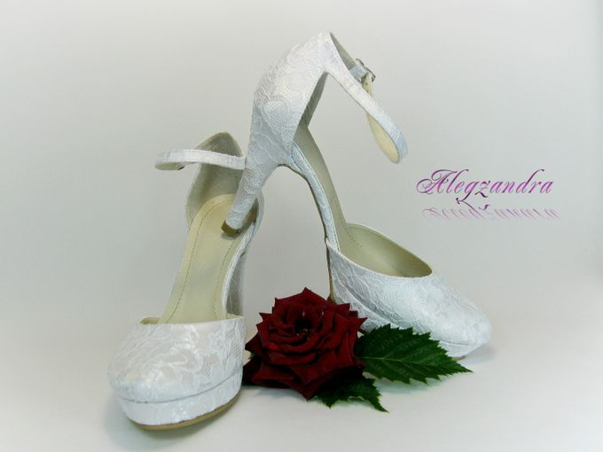 BRIDAL SHOES by Pamela Falli - 050