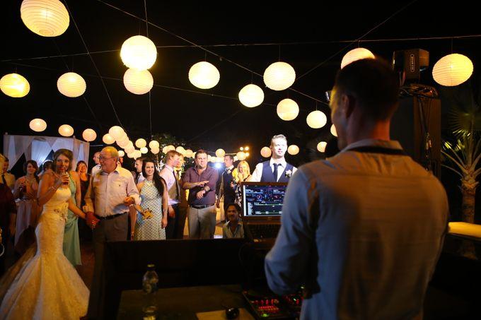 Wedding of Jen & Adrian by Majestic wedding & event DJs - 003