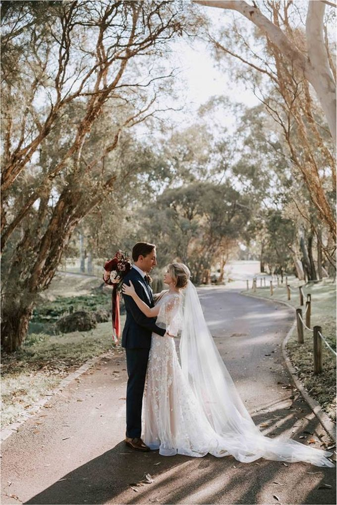 Spring Wedding at the Vines Country Club in the swan Valley Sarah & Glen by Anna Campbell - 014