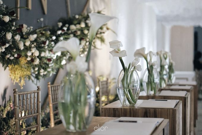 Simple Meets Elegant in This Dreamy Wedding Celebration by Elior Design - 005