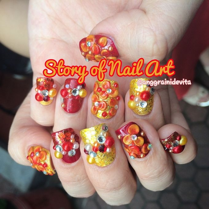 Fake Nails by Story of Nailart - 002