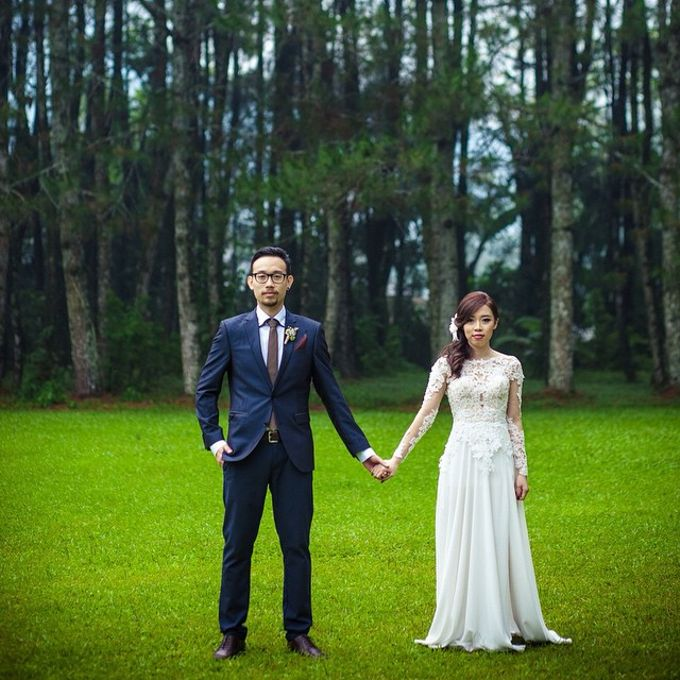 a Forest Wedding by Bozza Event Organizer - 009