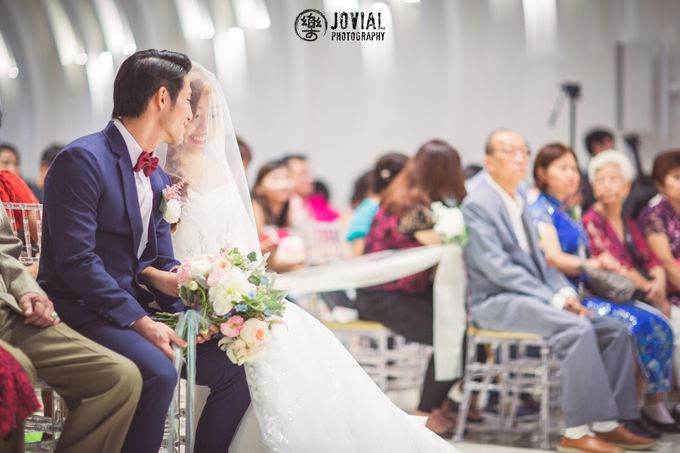 Wedding Actual Day & Pre Wedding by Jovial Photography - 010