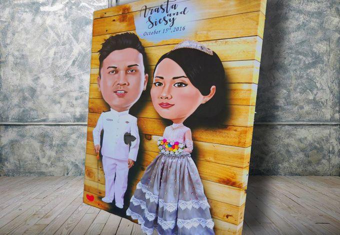 Siesy & Arasta by Wedding Fingerprint Indonesia - 002