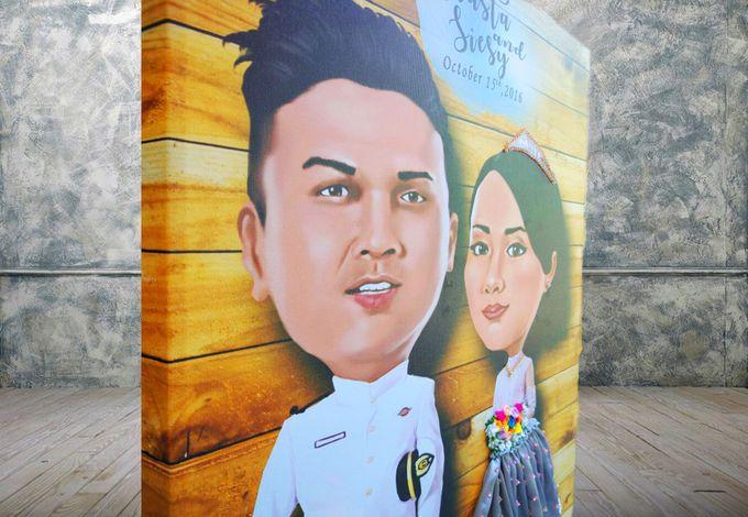 Siesy & Arasta by Wedding Fingerprint Indonesia - 003