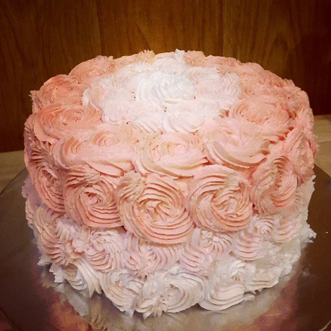 Flower Theme Cakes by Rolling Pin Sugar Art - 008