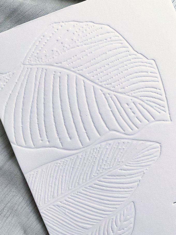 Modern Minimalist Tropical by Trouvaille Invitation - 001