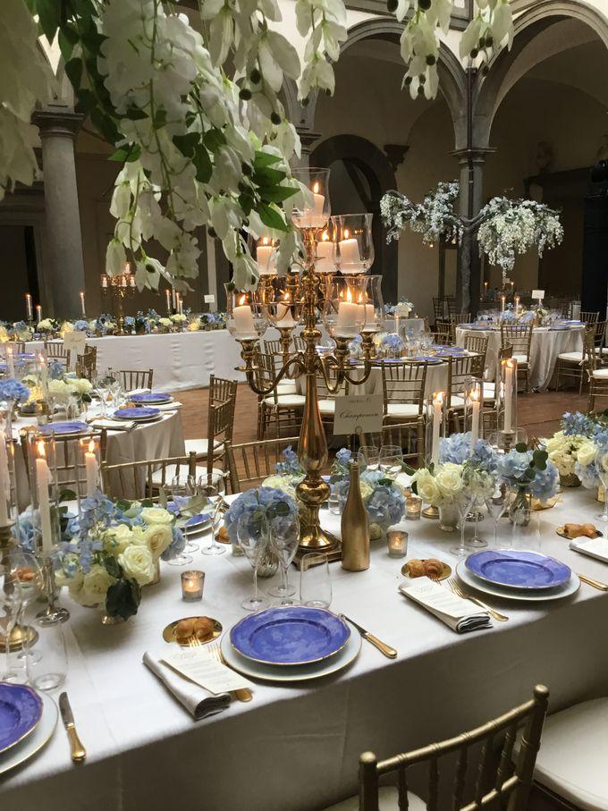 A blue wedding by C&G Wedding and Event Designer - 010