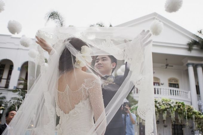 Garden Wedding of Ricky & Inggrid by All Occasions Wedding Planner - 018