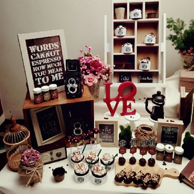Starbuck Coffee Lovers Dessert Table by Veste Sweet & Delight - 005