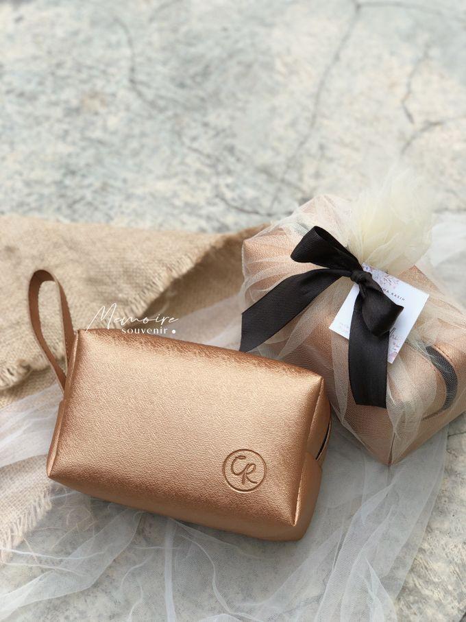 Boxy Pouch for Cinta & Radhi by Memoire Souvenir - 001
