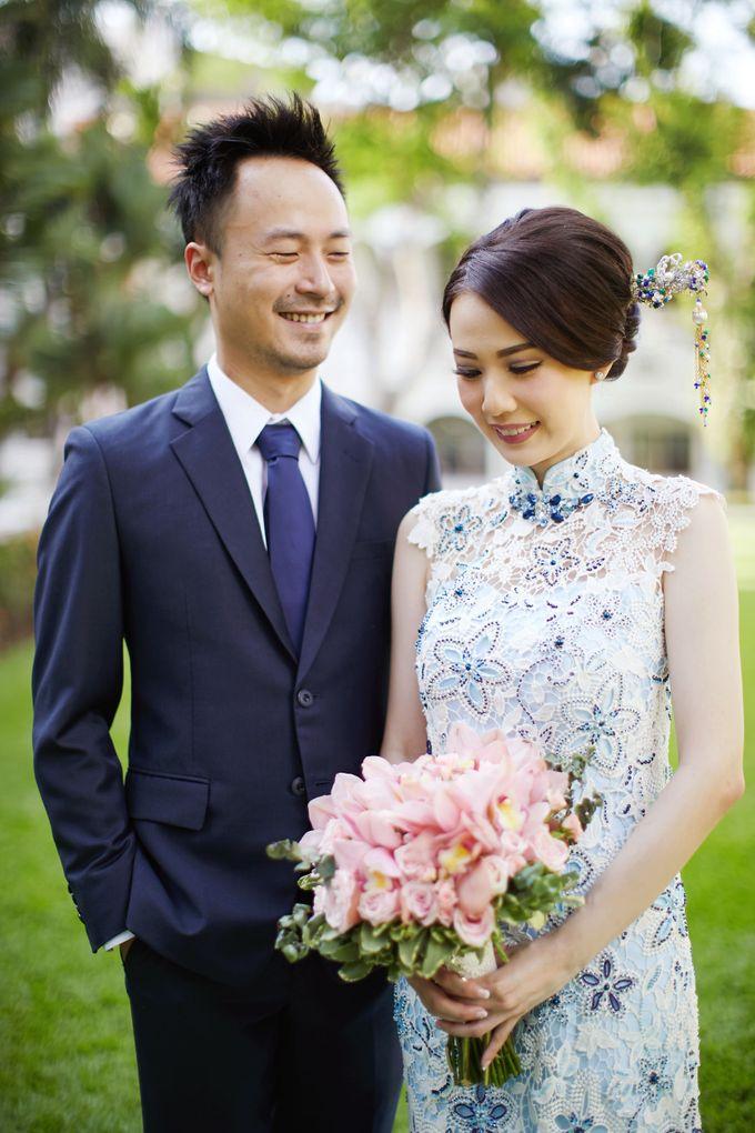 Albert & Jocelyn - Wedding Day by Grand City Mall & Convex - 020