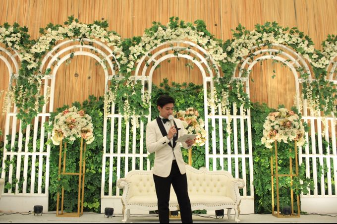 MC Wedding Menara Mandiri Jakarta - Anthony Stevven by IKK Wedding Planner - 012