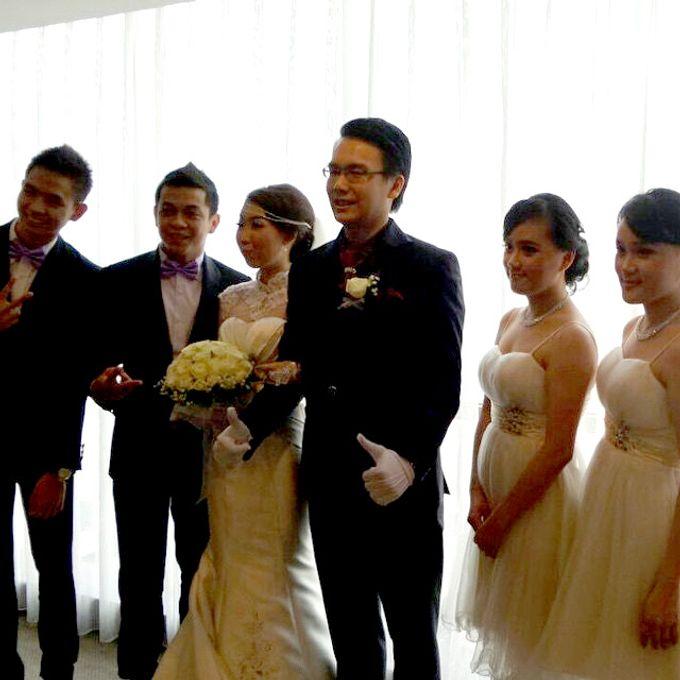 THE WEDDING OF EDISON & SONIA / 26.10.14 / SEASONS CITY BALLROOM, JAKARTA by AS2 Wedding Organizer - 001