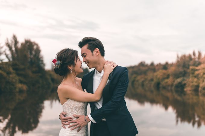 Prewedding shoot with Allie and Joshua by By Priscilla Er / Makeup Artist - 001