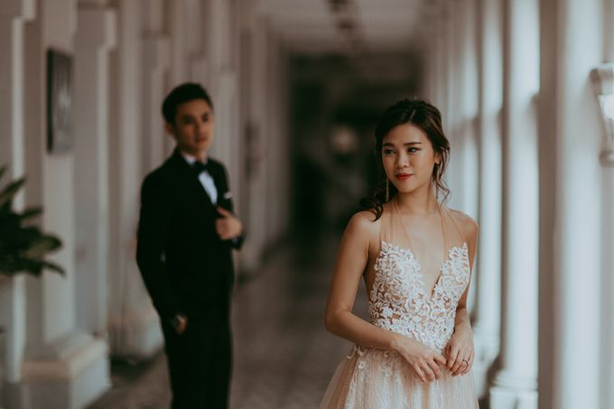 Prewedding shoot with Allie and Joshua by By Priscilla Er / Makeup Artist - 002