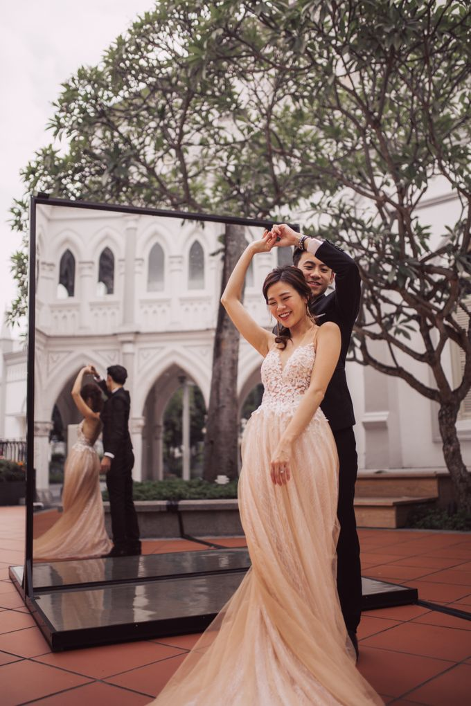 Prewedding shoot with Allie and Joshua by By Priscilla Er / Makeup Artist - 003