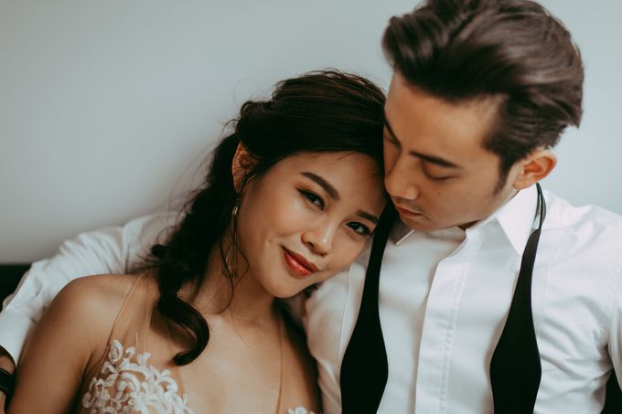 Prewedding shoot with Allie and Joshua by By Priscilla Er / Makeup Artist - 005