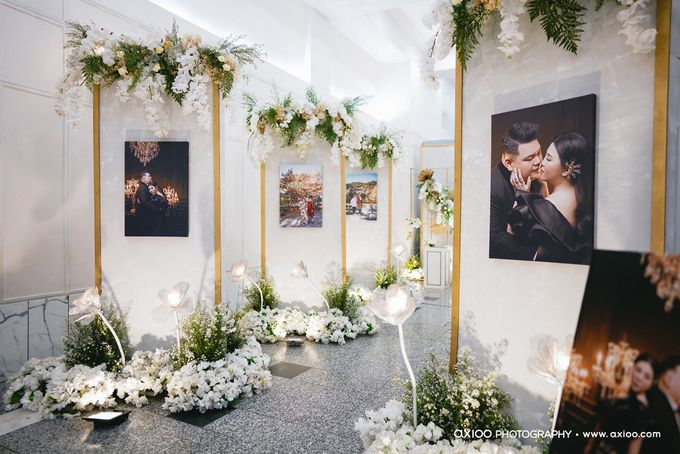 International Wedding Decoration of Fendy and Hana by  Menara Mandiri by IKK Wedding (ex. Plaza Bapindo) - 005