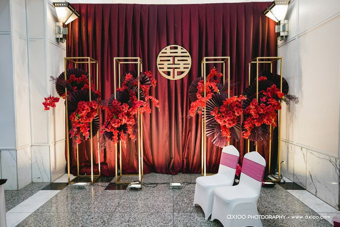International Wedding Decoration of Fendy and Hana by  Menara Mandiri by IKK Wedding (ex. Plaza Bapindo) - 011