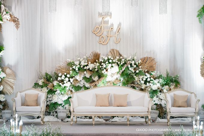 International Wedding Decoration of Fendy and Hana by  Menara Mandiri by IKK Wedding (ex. Plaza Bapindo) - 002