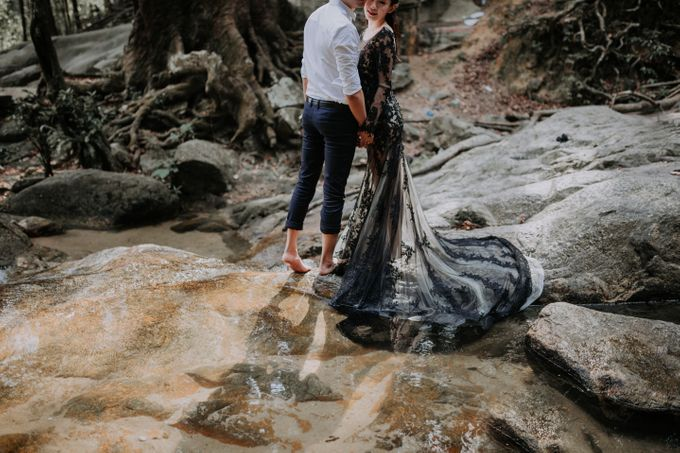 Local Malaysia Engagement & Pre-Wedding of Kevin & Pinkiee by Jessielyee. - 017