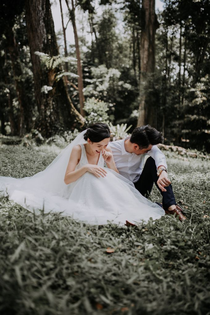 Local Malaysia Engagement & Pre-Wedding of Kevin & Pinkiee by Jessielyee. - 012