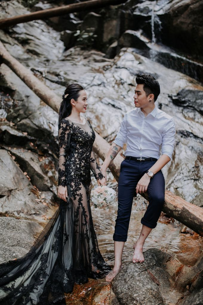 Local Malaysia Engagement & Pre-Wedding of Kevin & Pinkiee by Jessielyee. - 020