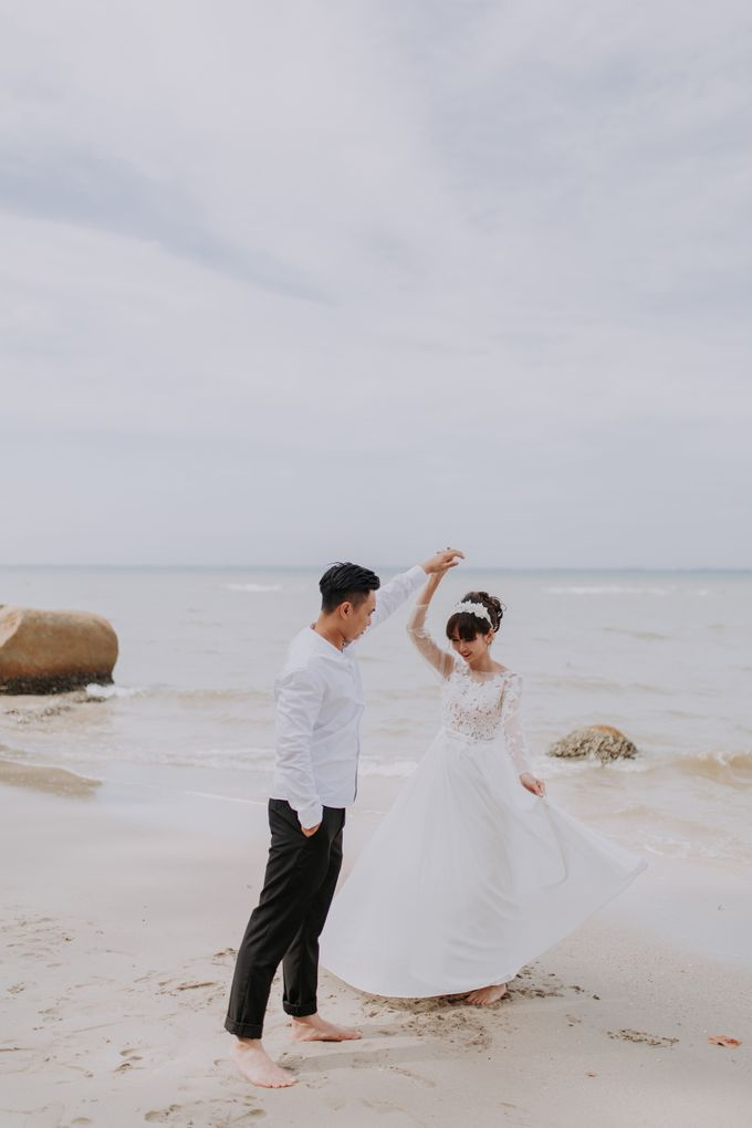 Local Malaysia Engagement & Pre-Wedding of Mellvin & Eunice by Jessielyee. - 007
