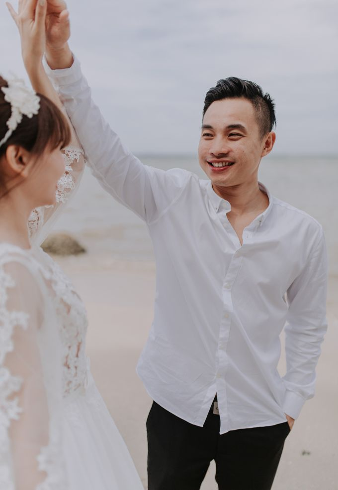 Local Malaysia Engagement & Pre-Wedding of Mellvin & Eunice by Jessielyee. - 008