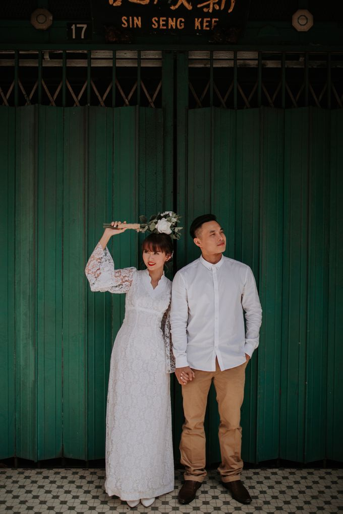 Local Malaysia Engagement & Pre-Wedding of Mellvin & Eunice by Jessielyee. - 021