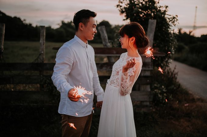 Local Malaysia Engagement & Pre-Wedding of Mellvin & Eunice by Jessielyee. - 001
