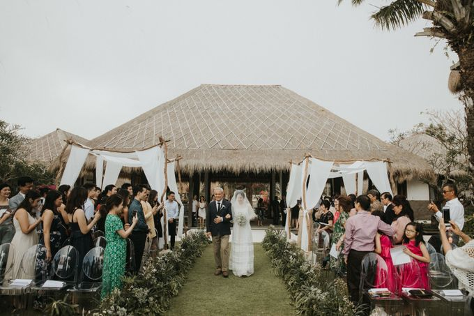 Chris & Calista Real Wedding at The Stone House by Tirtha by Tirtha Bridal - 019