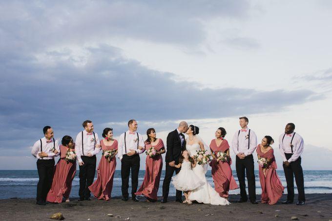 Ian & Farra Intimate Beach Villa Wedding by Vilia Wedding Planner - 031