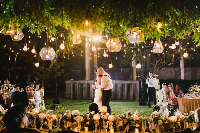 Ian & Farra Intimate Beach Villa Wedding by Vilia Wedding Planner - 038