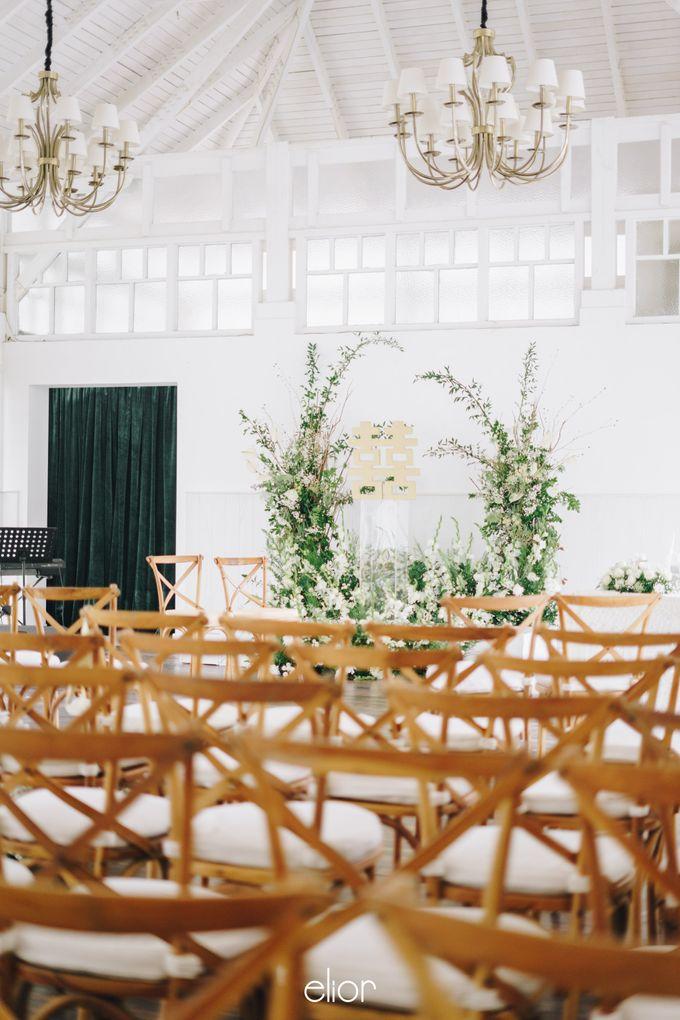 The Wedding Of David & Felicia by Elior Design - 001