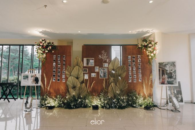 The Wedding of Steven & Evelyn by Elior Design - 020