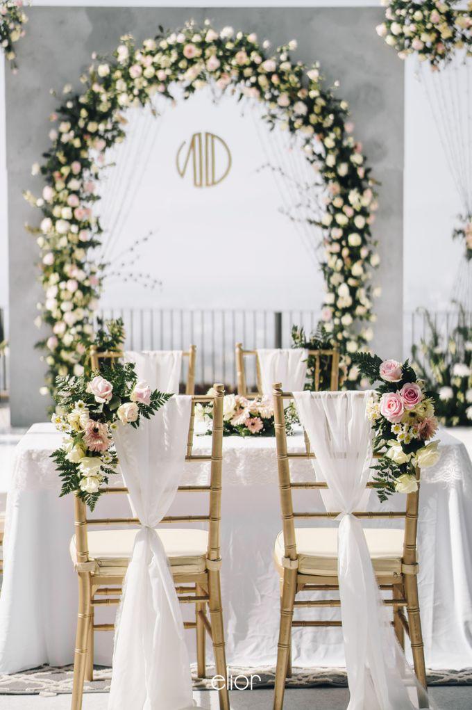 The Wedding of Novilia & Didik by Elior Design - 015