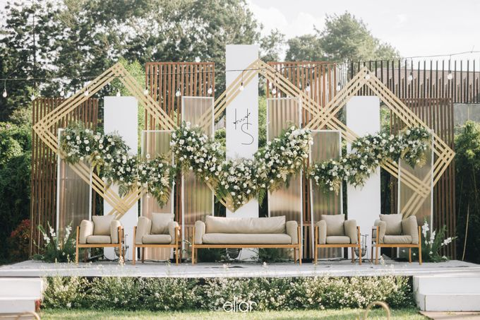 The Wedding of Henry and Stefanie by Elior Design - 003