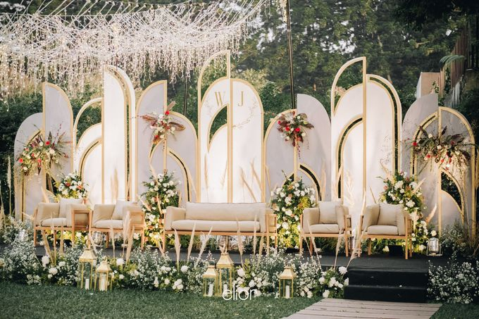 The Wedding of Welly and Janette by Elior Design - 001