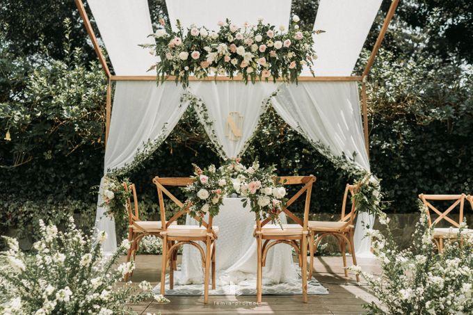 Wes Anderson Wedding Theme of of Nazura & Ichsan by Elior Design - 029