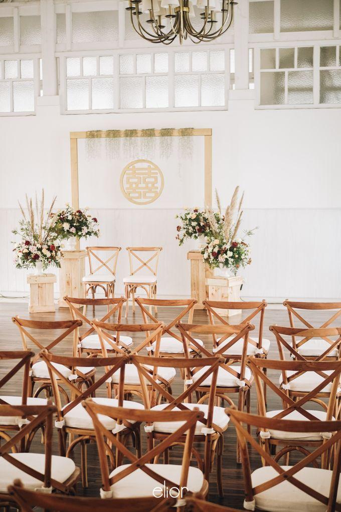 The Wedding of Adrian & Viola by Elior Design - 014