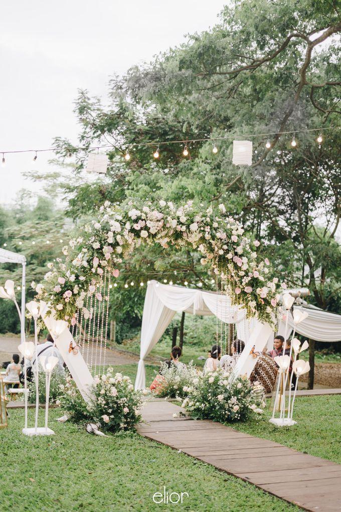 The Wedding of Monique & Gabriel by Elior Design - 002