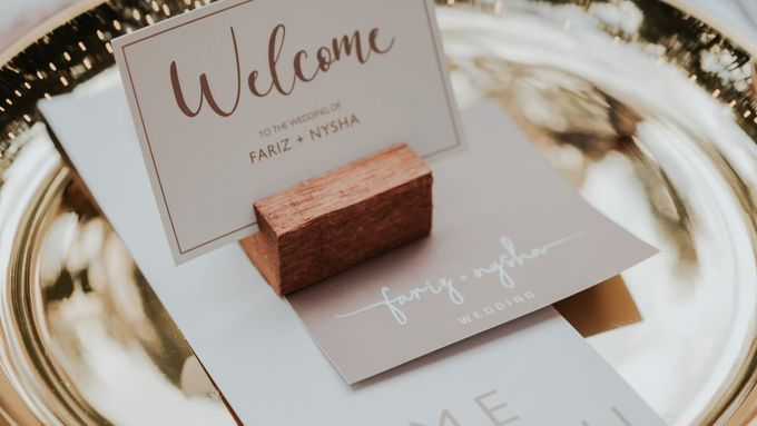 The Wedding of Nysha and Fariz by Elior Design - 038