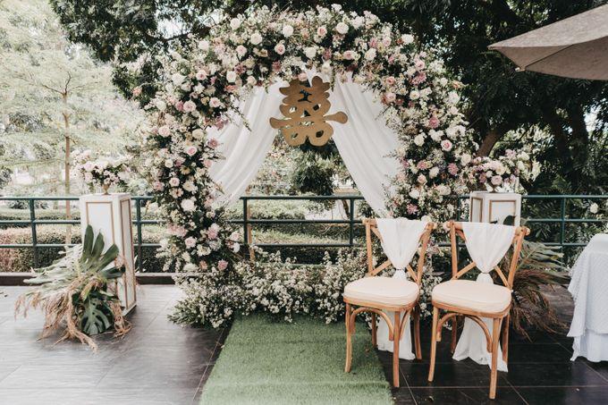 The Wedding of Stephan & Gabby by Elior Design - 025