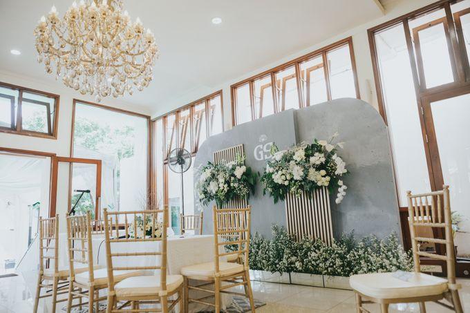 The Wedding of Ghea & Saleh by Elior Design - 012