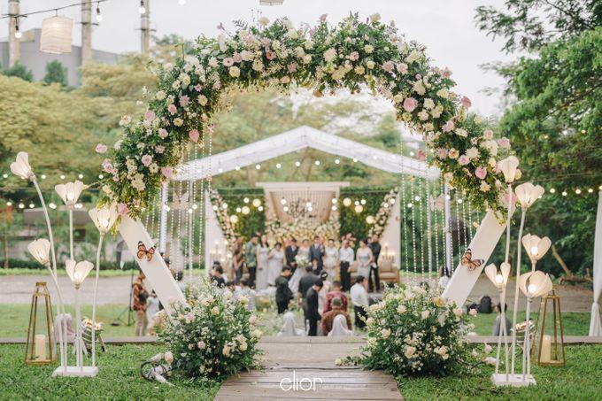 The Wedding of Monique & Gabriel by Elior Design - 001