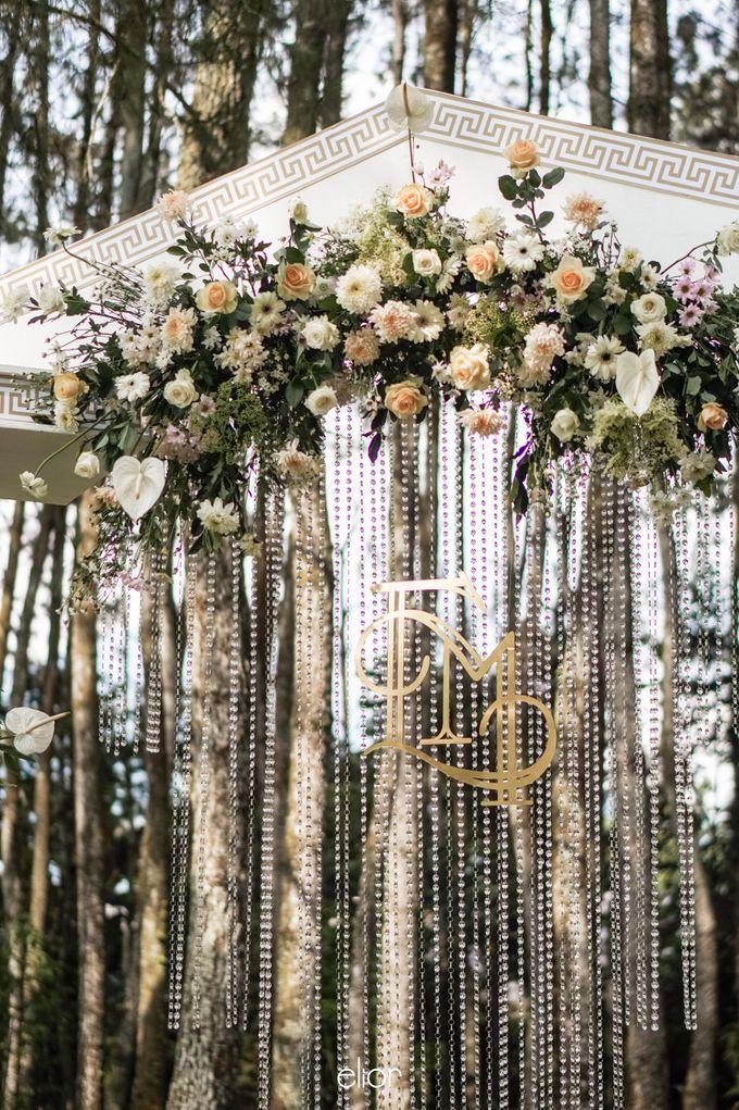 The Greek Goddess Themed Wedding of Edo and Marshella by Elior Design - 025