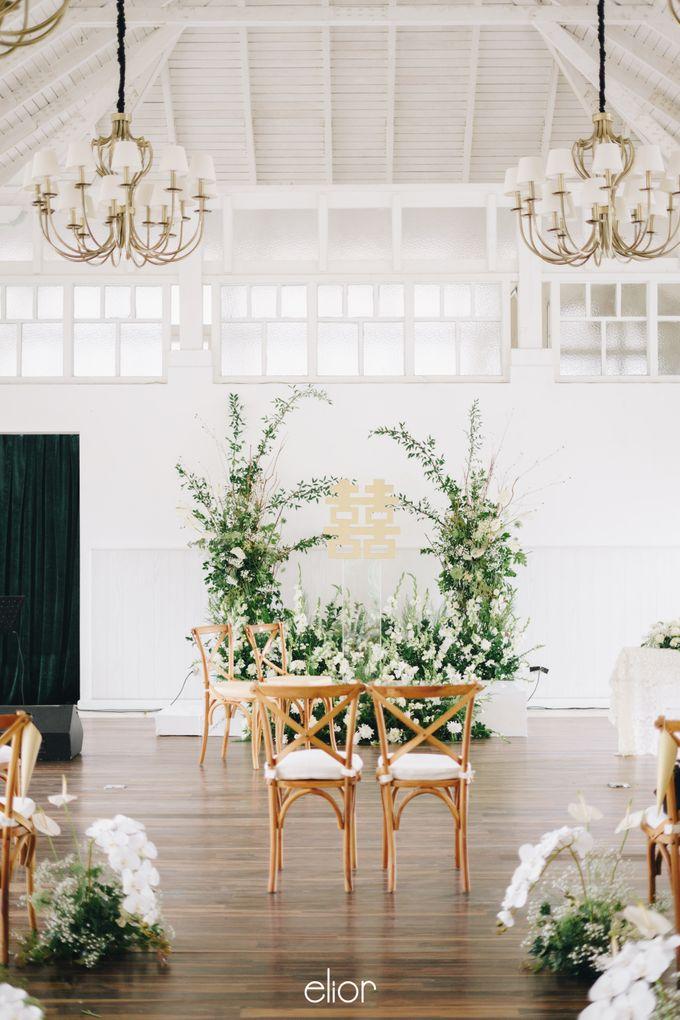 The Wedding Of David & Felicia by Elior Design - 002