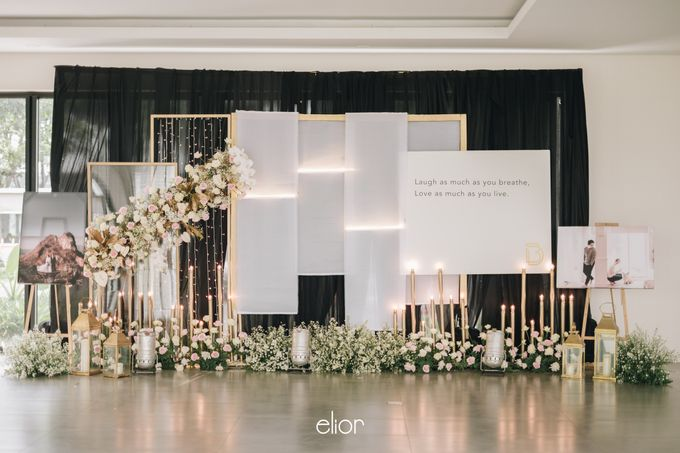 The Wedding of David & Bianca by Elior Design - 036
